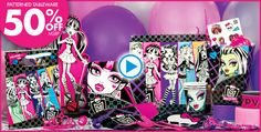 Monster High Party Supplies - Monster High Birthday-Party City