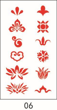 Doodle Designs, Stencil Designs, Japanese Tattoo Art, Japanese Art, Chinese Patterns, Galaxy Painting, China Art, Artist Art, Flower Designs