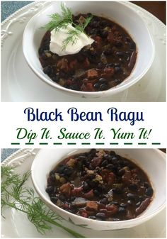 Black Bean Ragu to Delight Your Super Bowl Friends #RecipeIdeas. #12DaysOf