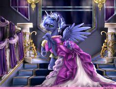 Princess Luna,принцесса Луна,royal,my little pony,Мой маленький пони,фэндомы,mlp art,GraceBL