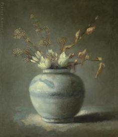 : Pieter Knorr Bloeisels 60.0 x 52.0 cm, Olieverf op paneel, 2011