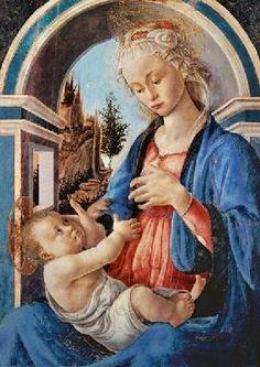 Botticelli, Sandro : La Vierge et l'Enfant