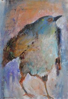 Mel McCuddin, New Blue 2016, oil on canvas