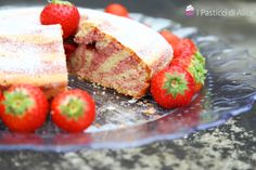 Strawberry Zebra Cake is very beautiful to see, but it is also tasty! This sweet it is perfect for breakfast and as snack!