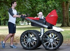 Skoda Giant Pram - Jeep Inspired Baby Strollers Of course this is on our registry ;)