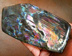 1104g Natural Multicolor Labradorite Quartz Crystal Specimen Madagascar  LY6027