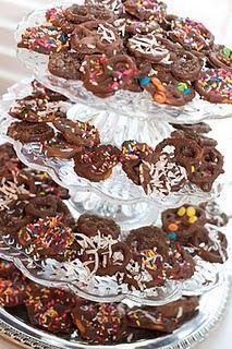 Chocolate covered pretzel perfection