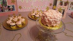 1st Birthday smash cake and cupcakes