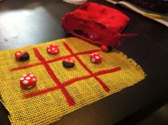 Tic tac toe board perfect for the fish extender!