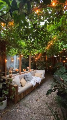 Outdoor Patio Designs, Small Backyard Design, Small Backyard Landscaping, Backyard Ideas, Diy Patio, Patio Ideas, Backyard Greenhouse, Budget Patio, Outdoor Rooms
