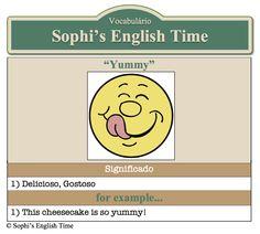 Vocabulário: Yummy
