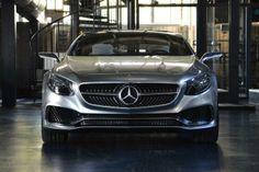 Mercedes S-Class Coupe Concept 2014 front