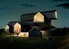 Vitra Haus; Weil am Rhein, Germany | Herzog & de Neuron; photo: Leon Chew
