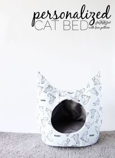 FREE Cat Bed Sewing Pattern   see kate sew   Bloglovin'