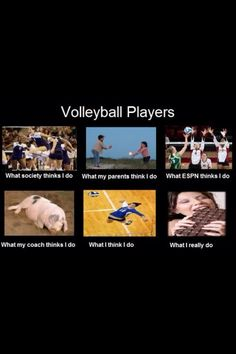 That's like so true cuz I'm a volleyball player! Volleyball Jokes, Volleyball Problems, Play Volleyball, Volleyball Players, Softball, Libero Volleyball, Volleyball Setter, Volleyball Inspiration, Sports Memes