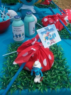 Smurfs Party Pack - By www.supakids.co.za