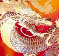 旋風-6 Tiger Dragon, Dragon Art, Japanese Tattoo Art, Japanese Art, Korean Art, Asian Art, Koi Dragon Tattoo, Dragon Sketch, Little Dragon