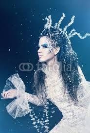 snow queen makeup - Google Search