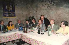 Il Dr. Raimondo VILLANO Segretario dell'Interclub Rotary Castellammare di Stabia, Pescara Ovest e Pompei Oplonti Vesuvio Est (Pompei, Scavi archeologici, Ristorante internazionale, 7 novembre 1992).