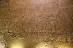 Templo de Sethi I en Abidos , Primera sala Hipóstila , Abydos.   por Soloegipto