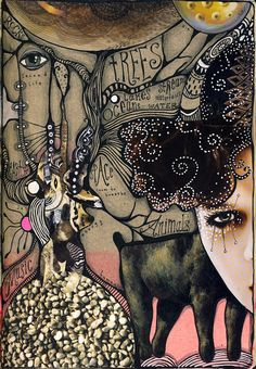 Teesha Moore, 'New Eye Candy', From Teesha's Circus Journal Pages. June, 2013.