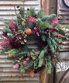 Vine Wreath, Flower Wreaths, Holiday Wreaths, Holiday Decor, Nativity, Charity, Vines, 12 Days, Create