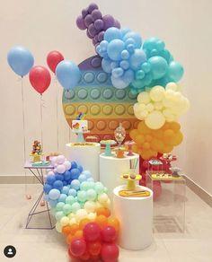 It's Your Birthday, 9th Birthday, Girl Birthday, Birthday Parties, Balloon Garland, Balloon Decorations, Birthday Decorations, Balloons, Figet Toys