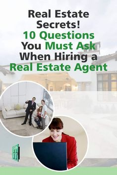 Finding a good realtor is tricky. Make sure you ask all of these questions and have the facts when you're looking for a good real estate agent. #home #homebuying #homebuyer #firsttimehomebuyer New Home Checklist, Moving Checklist, Home Buying Tips, Buying Your First Home, Find A Realtor, Estate Lawyer, New Property, First Time Home Buyers, Real Estate Tips
