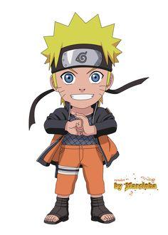 Chibi Naruto Shippuden by Marcinha20