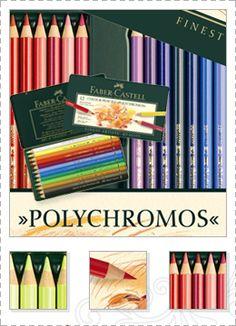 Lápices de Colores Permanentes - Faber Castell  Amo los lapices de colores!!!!