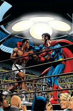 Place Your Bets   Muhammad Ali vs Superman