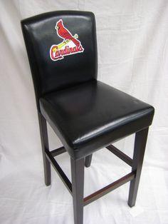Cardinals bar stool