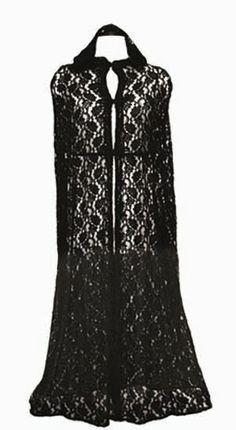 Black Lace Cloak <3