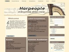 New version of www.Harpeople.eu