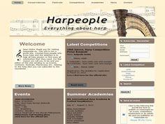 New version of www.Harpeople.eu