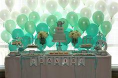 festa de batizado ou aniversário