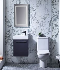 Buy Tavistock Kobe Wall Mounted Bathroom Vanity Unit with Basin Wide - Storm Grey today. Tavistock Part No: Free UK delivery in approx 4 working days. Basin Vanity Unit, Monochrome Bathroom, Vanity Units, Vanity, Wall Hung Vanity, Grey Walls, Wall Mounted Vanity, Back To Wall Toilets, Bathroom Inspiration