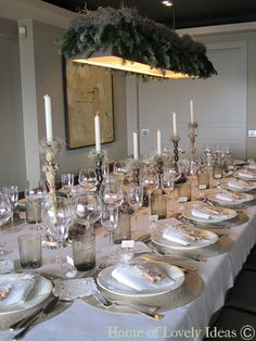 tablescape by Home of Lovely Ideas