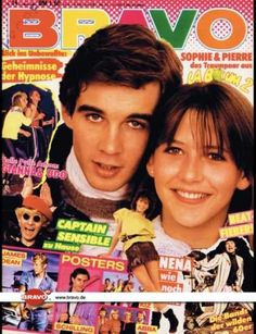 Magazine photos featuring Sophie Marceau on the cover. Sophie Marceau magazine cover photos, back issues and newstand editions. Sophie Marceau, French Songs, Good Old Times, Remember The Time, My Childhood Memories, Magazine, 90s Kids, Long Time Ago, Cover Photos