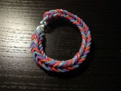 Easy Three Color Fishtail Bracelet
