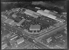 Intersection of Titirangi Road and Great North Road, New Lynn, Auckland, featuring New Lynn Motors Ltd Nz History, Auckland New Zealand, Great North, Old West, Coco, Motors, City Photo, The Neighbourhood, News