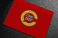 COMICSHOP.RO - brand identity project