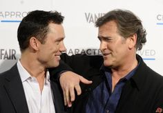 Jeffrey Donovan and Bruce Campbell aka Michael Westen and Sam Axe from Burn Notice
