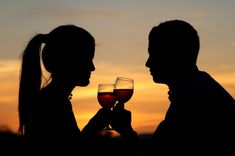 #18 - Drink a very high end wine, with someone I love, while looking at the most amazing sunset in a far off location.