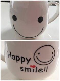 ハッピースマイル  可愛いマグカップゲット( 艸)  見てるだけで笑顔になれる() tags[福岡県]