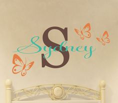 Looking at ordering this, but can't decide what colors to do for the butterflies. (and no, baby's name is not Sydney)