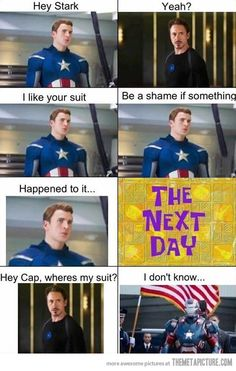 I THOUGHT THE SAME THING WHEN I SAW THE IRON MAN 3 TRAILER!!! :D