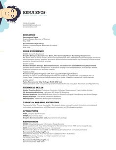 30  Simple Resume Design Ideas that work