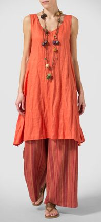 Vivid Linen Energetic of Warm Colors