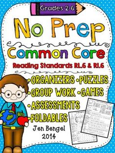 NO+PREP+Common+Core+Reading+Packet:+Standards+RL.6+